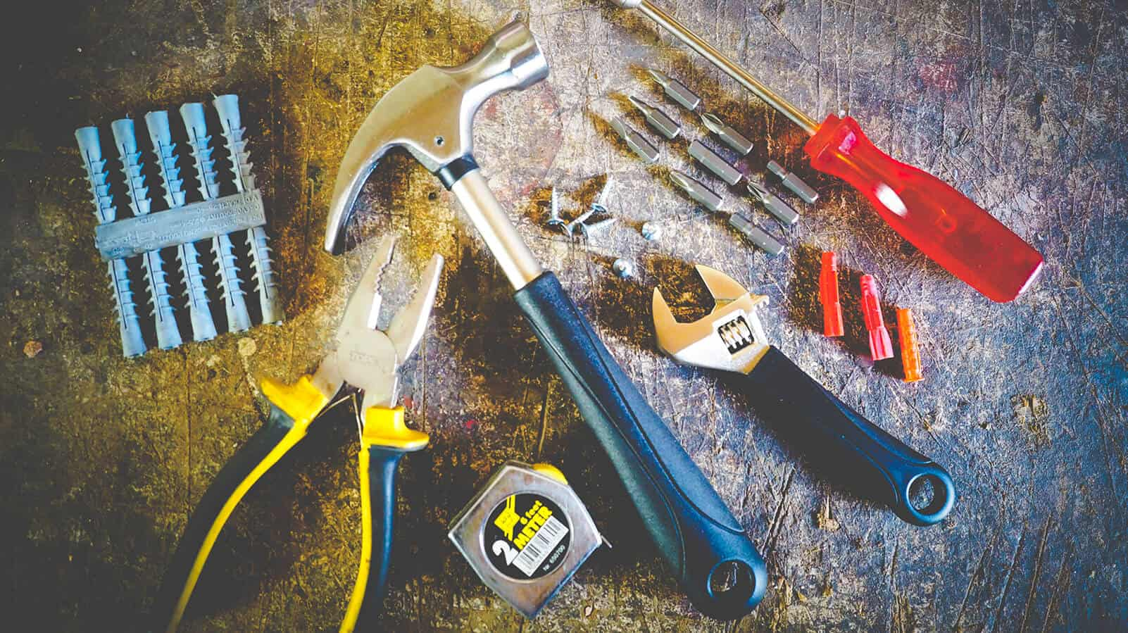 Tools to fix your garage door yourself