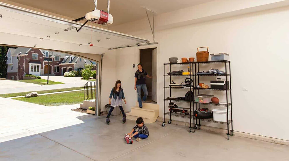 garage door child safety